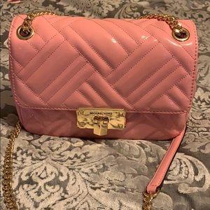 Michael Kors pink shoulder purse